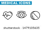thin lines web icon set  ... | Shutterstock .eps vector #1479105635
