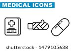 thin lines web icon set  ... | Shutterstock .eps vector #1479105638