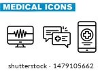 thin lines web icon set  ... | Shutterstock .eps vector #1479105662