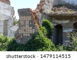 Ruined House. Remains Of Old...