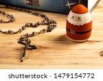 Catholic Rosary Beads With...