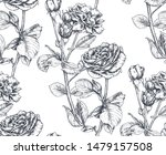vector seamless pattern with...   Shutterstock .eps vector #1479157508