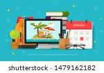 travel or journey planning... | Shutterstock .eps vector #1479162182