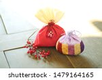 Stock photo celebration image of korea traditional lucky bag 1479164165