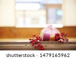 Stock photo korean traditional lucky bag new year s image 1479165962