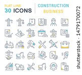 set of vector line icons of...   Shutterstock .eps vector #1479170072