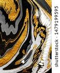 agate crystal. golden swirl ...   Shutterstock . vector #1479199595