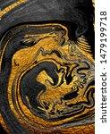 agate crystal. golden swirl ...   Shutterstock . vector #1479199718