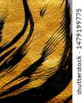 agate crystal. golden swirl ... | Shutterstock . vector #1479199775