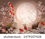 Chinoiserie Style Picture With...
