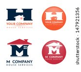 Two Logos Template for House Services