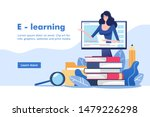 distance education or business... | Shutterstock .eps vector #1479226298