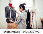 asian female fashion designer...   Shutterstock . vector #1479239792