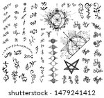 design set with abstract...   Shutterstock .eps vector #1479241412