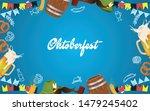 oktoberfest party illustration... | Shutterstock .eps vector #1479245402