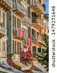 Small photo of Corfu Old Town scenary during St.Spyridon litany