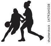 basketball player vector...   Shutterstock .eps vector #1479264338