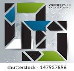 abstract vector design eps 10 | Shutterstock .eps vector #147927896