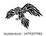 beautiful tattoo illustration...   Shutterstock .eps vector #1479337982