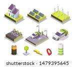 alternative energy set  vector...   Shutterstock .eps vector #1479395645