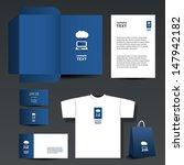 stationery template design  ... | Shutterstock .eps vector #147942182