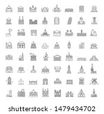 building icons set  government. ... | Shutterstock .eps vector #1479434702