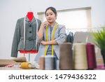 fashion designer stylist in...   Shutterstock . vector #1479436322