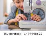 closeup of attractive female...   Shutterstock . vector #1479448622