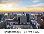 new york city skyline  | Shutterstock . vector #147954122