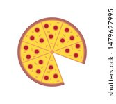 colorful pizza social media...