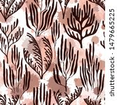 coral polyps seamless pattern.... | Shutterstock .eps vector #1479665225