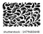 hand drawn grunge texture.... | Shutterstock .eps vector #1479683648