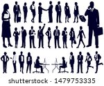 set of business people in... | Shutterstock .eps vector #1479753335