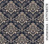 Damask Seamless Pattern...
