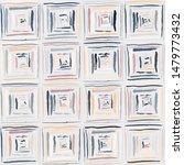 checkered brush drawing. random ... | Shutterstock .eps vector #1479773432