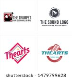 the arts logo with silhouette a ...   Shutterstock .eps vector #1479799628