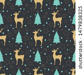 holiday pattern depicting the... | Shutterstock . vector #1479838325