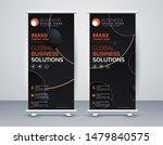 business roll up. standee... | Shutterstock .eps vector #1479840575
