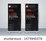 business roll up. standee... | Shutterstock .eps vector #1479840578