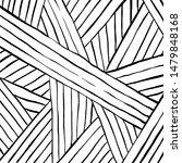 grunge brush pattern. texture.... | Shutterstock .eps vector #1479848168