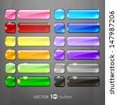 set of blank web buttons for... | Shutterstock .eps vector #147987206
