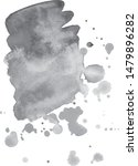 abstract watercolor grayscale... | Shutterstock .eps vector #1479896282