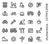 this is a set of camping icons... | Shutterstock .eps vector #1479913958