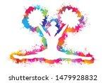 popular sports  cheerleader...   Shutterstock .eps vector #1479928832