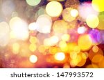 abstract circular bokeh... | Shutterstock . vector #147993572