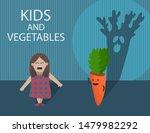 funny cartoon illustration with ... | Shutterstock .eps vector #1479982292