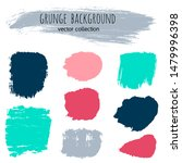 paint stains grunge collection. ... | Shutterstock .eps vector #1479996398
