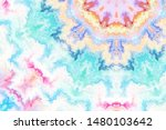 decorative color art abstract... | Shutterstock . vector #1480103642