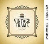 vector ornament design element. ... | Shutterstock .eps vector #148013525