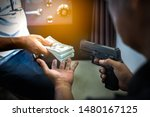 Armed robbers used the gun to robbery the money, Uses Gun in Armed Robbery, Armed robbers,